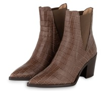 Cowboy Boots - TAUPE
