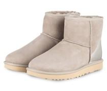 Boots CLASSIC MINI - HELLGRAU/ SILBER