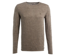 Strickpullover GUIDO - taupe