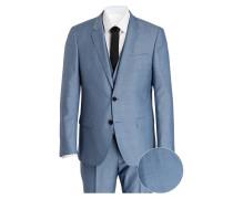 Anzug C-HUGE/C-GENIUS Slim-Fit - blau