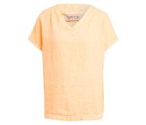 Oversized-Shirt aus Leinen