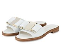 Sandalen - offwhite/ gold