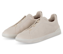 Slip-on-Sneaker TRIPLE STITCH - WEISS