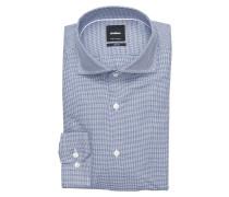 Hemd SERENO Slim-Fit - blau/ marine/ weiss