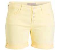 Shorts CAMILLA - gelb