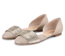 Ballerinas - CREME/ GOLD