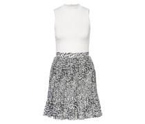 Kleid YONDIA im Materialmix