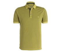 Piqué-Poloshirt - hellgrün