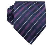 Krawatte - schwarz/ fuchsia
