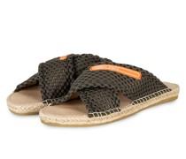 Pantoletten - 592 crocodile