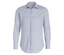 Hemd Slim-Fit - weiss/ blau