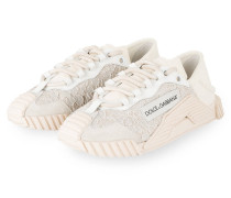 Sneaker - WEISS/ NUDE/ CREME
