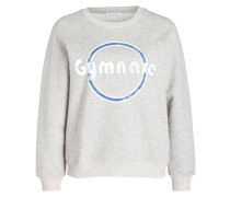 Sweatshirt TEACHER - grau