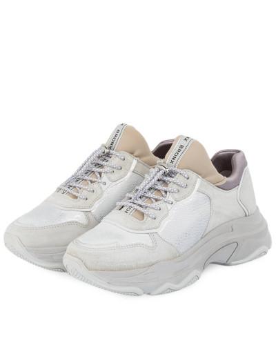 Plateau-Sneaker - HELLGRAU