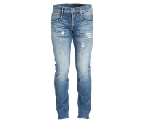 Destroyed-Jeans ANBASS Slim-Fit