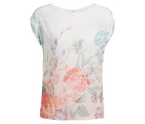 T-Shirt - ecru/ apricot/ mint