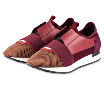 Sneaker RACE RUNNERS - bordeaux/ beere