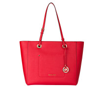 Saffiano-Shopper WALSH - bright red
