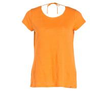 Leinenshirt - orange