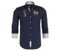 Hemd LEONE Regular-Fit - blau