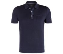 Schurwoll-Poloshirt