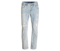 Destroyed-Jeans LUCCO Tapered-Fit