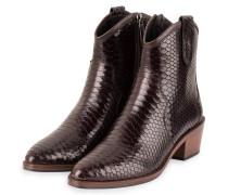 Cowboy Boots - DUNKELBRAUN