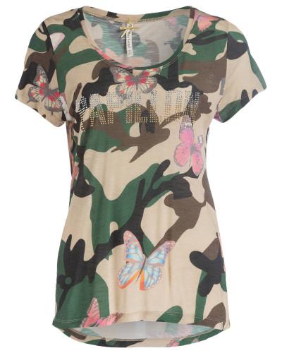 T-Shirt EVERGREEN - khaki/ oliv