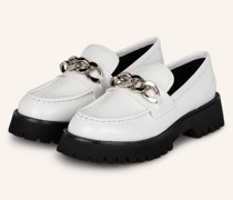 Plateau-Loafer - WEISS
