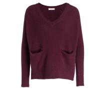 Cashmere-Pullover JACKSON - bordeaux
