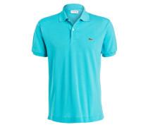 Piqué-Poloshirt Classic-Fit - türkis