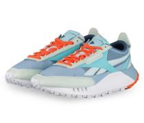 Sneaker LEGACY - HELLBLAU/ MINT/ ORANGE
