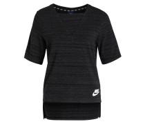 T-Shirt ADVANCE 15 - schwarz meliert