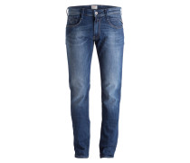 Jeans ANBASS Slim-Fit - 010 mid blue