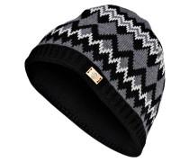 Mütze GABLE - graphit / schwarz / weiss