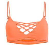 Bustier-Bikini-Top JAIME - orange