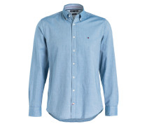 Oxfordhemd New York-Fit - blau