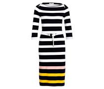 Kleid ELSARA - schwarz/ weiss gestreift