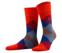 Socken CLYDE - 8314 safety orange