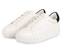 Plateau-Sneaker LANEY - WEISS/ SCHWARZ