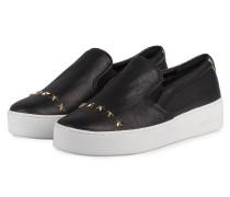 Slip-on-Sneaker mit Nietenbesatz