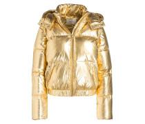 Daunenjacke - gold metallic