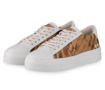 Sneaker - WEISS/ CAMEL/ BRAUN