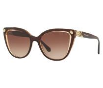 Sonnenbrille BV8212B mit Schmucksteinbesatz