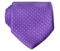 Krawatte - lila/blau