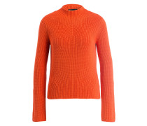 Strickpullover METAL - orange