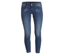 Skinny-Jeans LYNN - medium aged blue