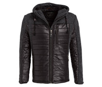 Steppjacke AYDEN im Materialmix
