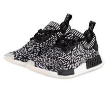 Sneaker NMD_R1 - schwarz/ weiss