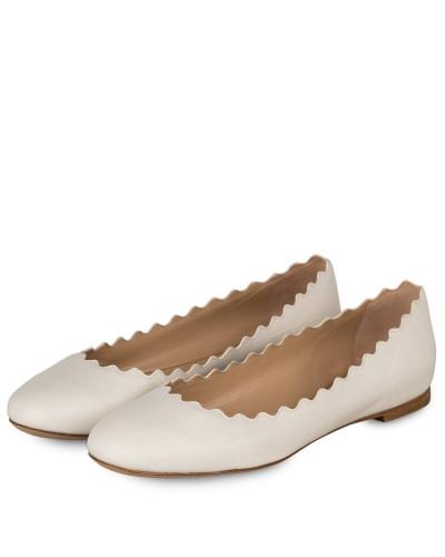 Ballerinas LAUREN - CLOUDY WHITE